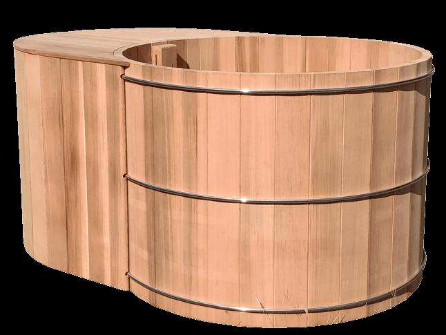 Nordic Bath In Red Cedar Wood, Nordic bath private use