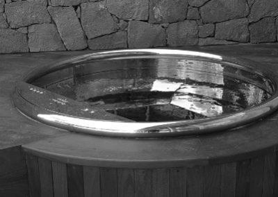 Bath Nordic Stainless Steel, installation bain nordique storvatt, installation bain nordique, installation spa